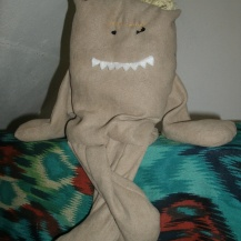 This is the first Gremlin I made, Grreg.